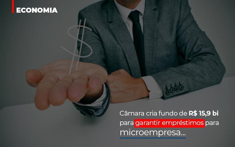 Camara Cria Fundo De Rs 15 9 Bi Para Garantir Emprestimos Para Microempresa Abrir Empresa Simples - Escritório Triângulo