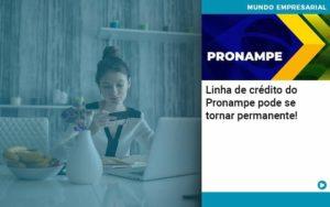 Linha De Credito Do Pronampe Pode Se Tornar Permanente Abrir Empresa Simples - Escritório Triângulo